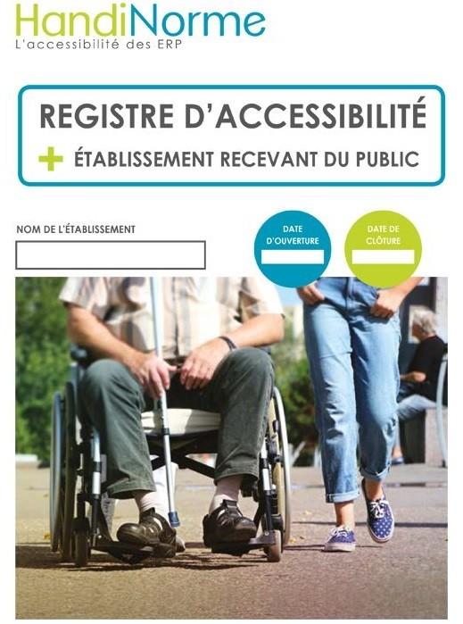 Registre accessibilité papier Handinorme