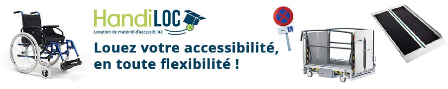 Handiloc location de matériel accessibilité handicapés et PMR