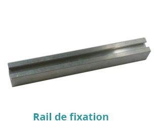rail de fixation