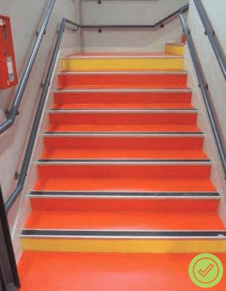 Normes pour les escaliers PMR