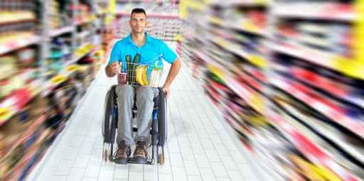 handicapé magasin