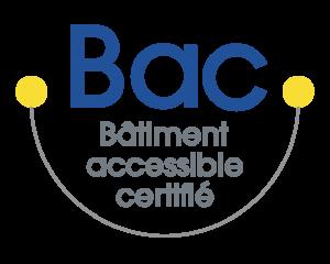 Logo Bâtiment accessible certifié