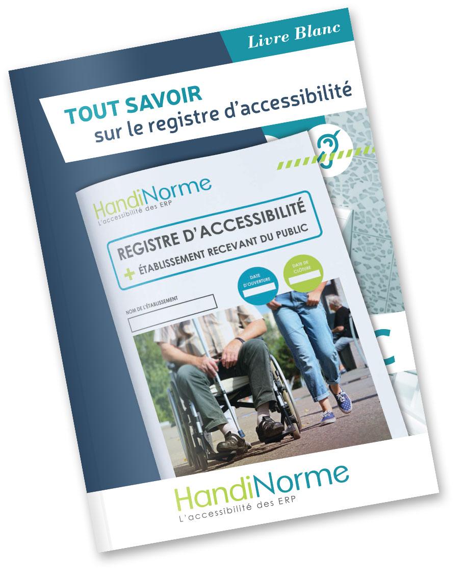 Livre blanc registre public d'accessibilité