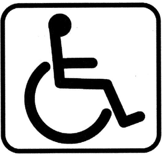 picto handicap moteur ou physique