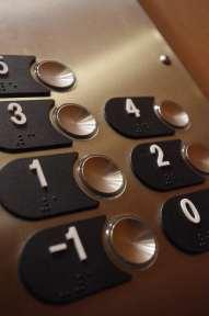 numeros des etages en ascenseur