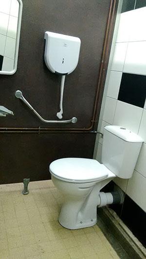 Camping : Sanitaires -toilettes Adaptées PMR