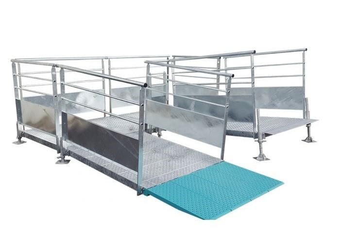 Rampe modulaire en acier personnalisable