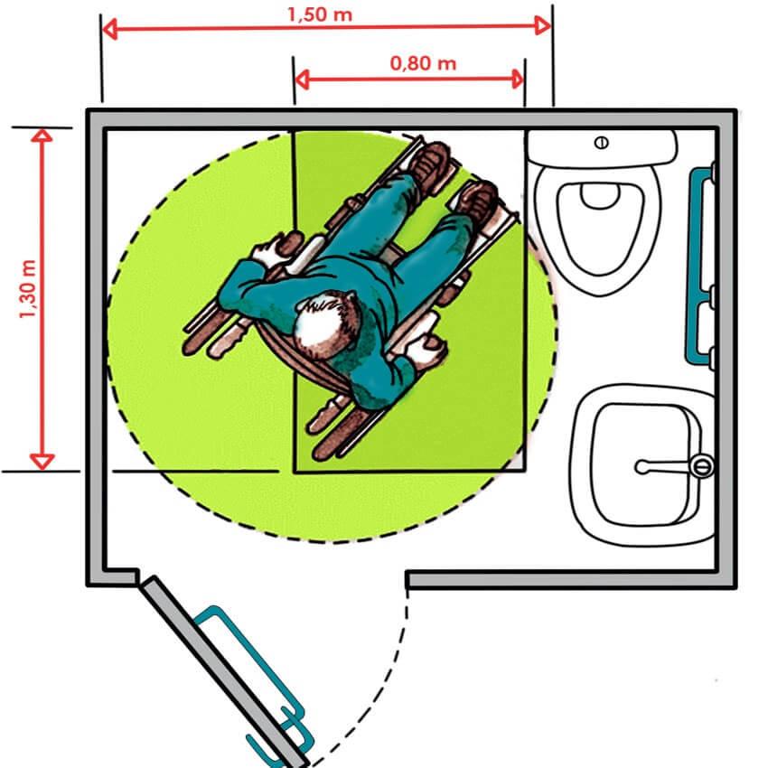 sanitaires accessibles bien quiper les sanitaires de son erp pour l accueil des pmr handinorme. Black Bedroom Furniture Sets. Home Design Ideas
