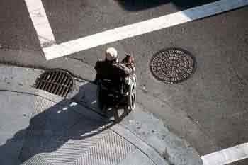 handicapés trottoirs