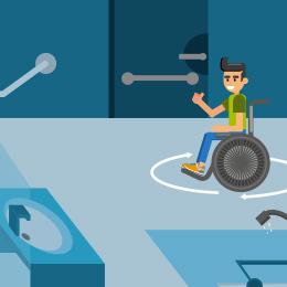 Accessibilité des chambres aménagées des ERP aux personnes ...